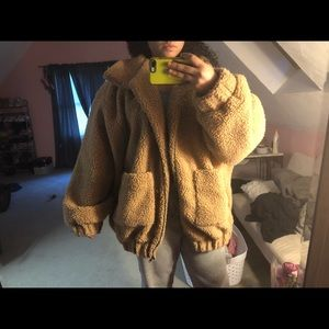 Camel Teddy Jacket